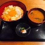 鶏Dining&Bar Goto - 東京軍鶏 究極の親子丼(950円)