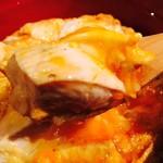 鶏Dining&Bar Goto - 身がしっかり、大きめカットの軍鶏肉!