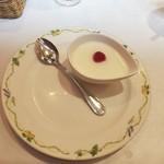 アマポーラ - イカ墨のパエリアランチ1,400円につくデザートフロマージュ