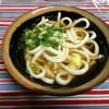 上杉食品 - 料理写真:かけうどん250円