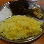 チャイ屋 マドゥバニ - 定食です