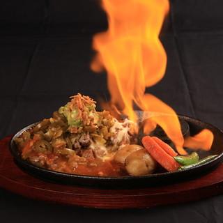 ステーキ一番のおすすめは、やっぱりメキシカンステーキ★