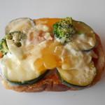 京都ホテルオークラ - グリル野菜のタルティーヌ