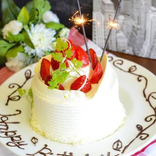 誕生日や記念日の特典をプレゼント