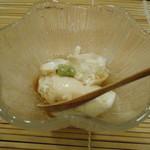 祇園富乃井 - ざる豆腐