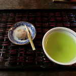 茶房 暖暖 - デザートと大和茶
