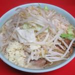 ラーメン二郎 - 料理写真:ラーメン(上から)