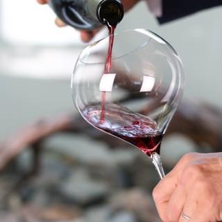 ◆お料理に合わせてグラスワインを楽しむ◆ペアリングワイン