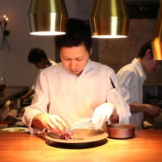 シェフ江見の料理をお楽しみ下さい