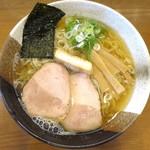 煮干しらぁめん なかじま - 塩らぁめん_680円