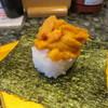 廻鮮寿司しまなみ  - 料理写真:塩水うに包み寿司