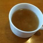 ひまわり - 料理写真:ランチのスープ