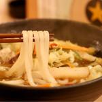 天ぷら串ともつ鍋 奥志摩 - 麺リフト