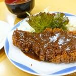 味一 - 2017年5月 とんかつ定食【920円】
