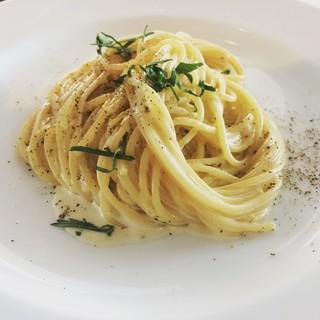レモンクリームのスパゲッティ