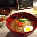 三代目ひょうたんや - 韓国冷麺(¥580)