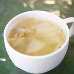 タイ王宮レストラン カポン - 自家製スープ