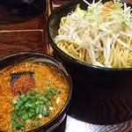 みそら - ファイヤーつけ麵+特盛り+5/5辛