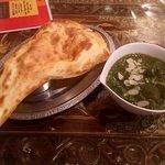 インド料理モハン - ほうれん草のカレー(野菜)(2017.6)