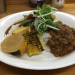 カレー屋 小松 - 料理写真:金華豚ドライカレー
