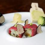 KOSO - 黒毛和牛生肉押し寿司