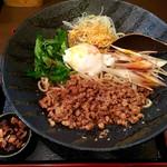 麺厨房 華燕 - 汁なし担々麺(冷)