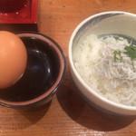 座房 - 産みたて卵かけシラスご飯