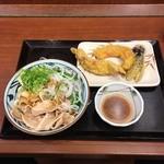 丸亀製麺 - 豚しゃぶぶっかけ