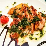 祥瑞 さっぽろ - 鶏モモ肉のソテー パセリバターとバルサミコソース