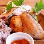 69627668 - つくば鶏のロティサリーチキン 1/4サイズ1300円