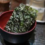 焼肉いち - 2017.7 お通し(324円)の韓国海苔