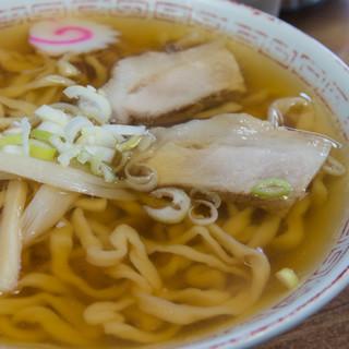 食堂なまえ - 料理写真:極太手打ちラーメン(570円)