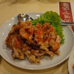 Manshinsaikan - 若鶏のサクサク揚げ