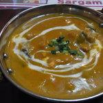 Sargam - 野菜カレー。野菜の旨みがしっかり出ている。