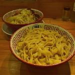 らーめん バリ男  - つけ麺(そのまま)
