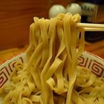 らーめん バリ男  - つけ麺専用の極平打ち麺