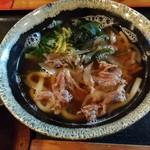 肉うどんの丸十 - 和牛肉うどん(小)