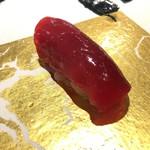 第三春美鮨 - シビマグロ 腹上二番 赤身 106kg 熟成4日目 北海道砂原