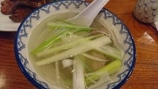 味太助 本店 - テールスープ