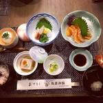 友景旅館 - 料理写真:ランチ¥2000 2日前までに要予約