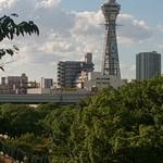 69634070 - 大阪市立美術館から通天閣を含む新世界の眺め