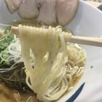 青波 - 慕情塩(750円)麺リフト