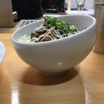 青波 - 豚丼(250円)