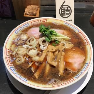サバ6製麺所 西中島南方店 - サバ醤油そば