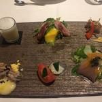 オステリア ラストリカート - 6種前菜