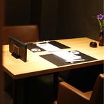 宮崎尾崎牛 肉割烹 吟 - テーブル個室