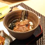 宮崎尾崎牛 肉割烹 吟 - 出汁茶漬け