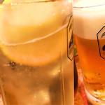ほがらか - ホッピーと生ビールで乾杯〜!