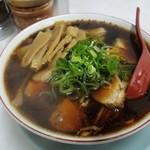 新福菜館 - 竹入中華そば