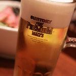 四季萬膳はなはな - ビールはプレミアムモルツ